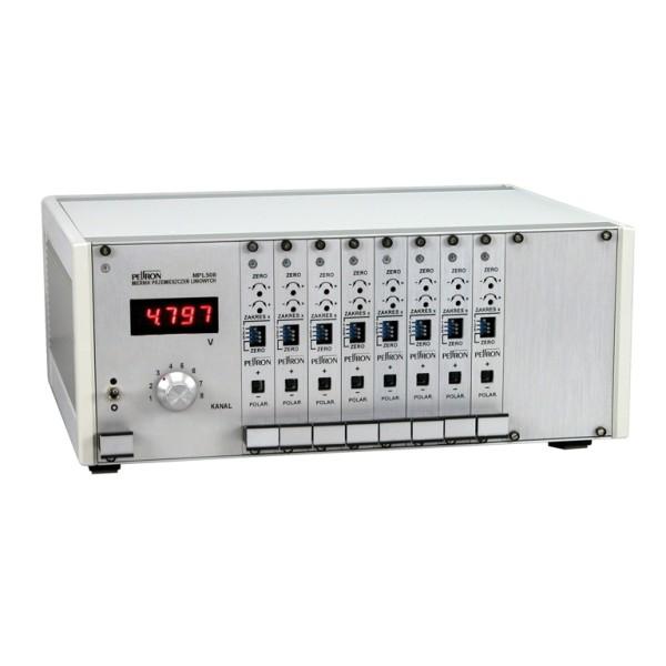 Pomiar przemieszczeń - miernik MPL508